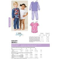 Pajamas-T1-T2-T3-T4 -*SEWING PATTERN*