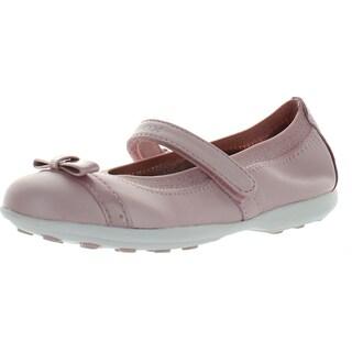 Geox Girls Jodie C Fashion Sport Flats Shoes (Option: Light Rose - 34 m eu / 3 m us little kid - Leather)