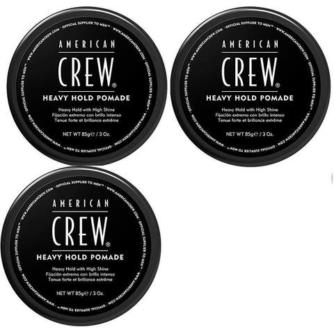 American Crew Heavy Hold Pomade 3 Ounce Pack of 3