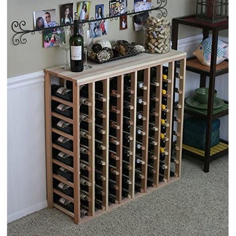 Creekside 64 Bottle Table Top Wine Rack