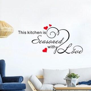 "Home Decor Removable DIY Vinyl Wall Art Sticker Family Decal 23.6""x11.8"""