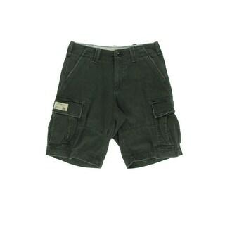 Ralph Lauren Mens Cotton Twill Cargo Shorts - 30