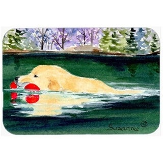 Carolines Treasures SS8935CMT 20 x 30 in. Golden Retriever Kitchen Or Bath Mat