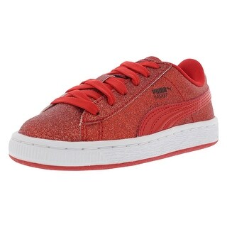 Puma Basket Holiday Glitz Ps Casual Kid's Shoes