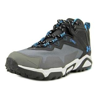 Under Armour Tabor Ridge Low Men Round Toe Synthetic Black Hiking Shoe