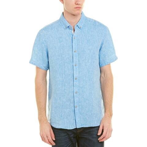 Report Collection Linen Woven Shirt