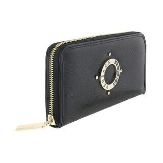 Versace EE3VQBPU1 E899 Black Long Wallet - 8-4-1