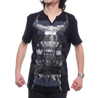 INC International Concepts Trend Tees V-Neck Short Sleeve Men Regular