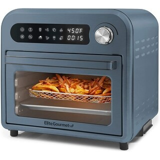 Link to Elite Gourmet Infinite-Use Air Fryer Oven, Slate Blue EAF1010DBG Similar Items in Cooking Essentials