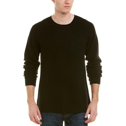 Ag Jeans Deklyn Crewneck Wool & Cashmere-Blend Sweater