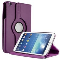Unlimited Cellular Multi-Angle 360 Stand Folio Case for Samsung Galaxy Tab 3 (8.