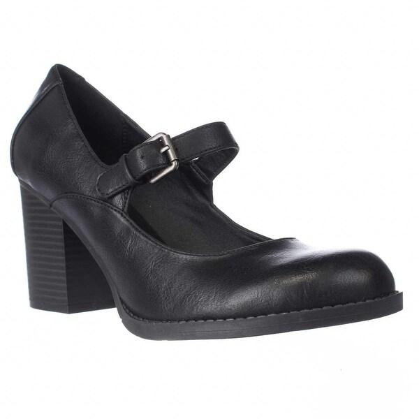 MIA Susy Mary Jane Dress Pumps, Black