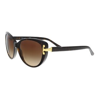 Tory Burch TY7092 137813 Havana Cateye Sunglasses - 56-17-135