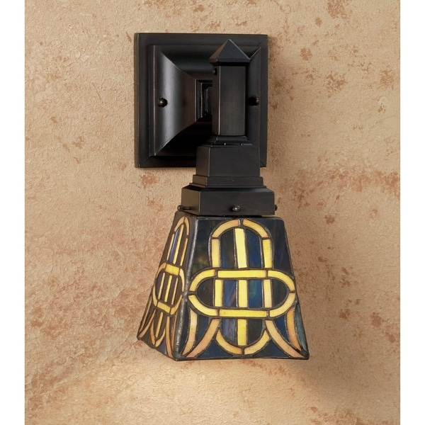 Meyda Tiffany 48183 Indoor Lighting Wall Sconces Down Lighting from the Knotwork