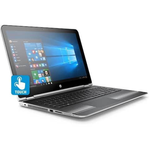 HP Pavilion x360 - 15-bk168cl Intel Core i3-7100U X2 2.4GHz 8GB 1TB, Silver (Certified Refurbished)