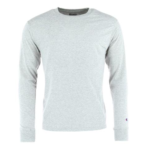 Champion Men's Long Sleeve Ring Spun T-Shirt
