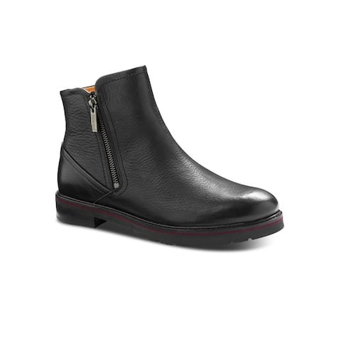 Samuel Hubbard City Zipper Women's Chukka Boot - Black Leather