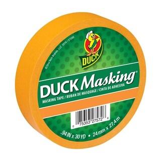 Duck Masking® Color Masking Tape .94 in. x 30 yd. (Option: Orange)