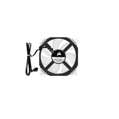 White Corsair ML120 Pro LED 120mm Premium Magnetic Levitation Cooling Fan