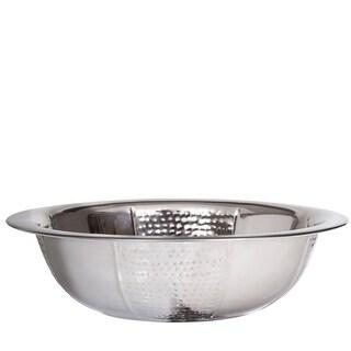 Washing Bowl Hammered and plain
