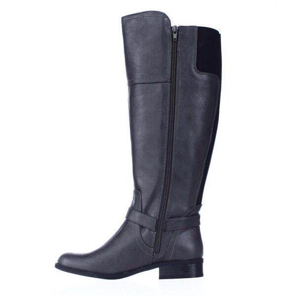 G by Guess Womens hailee WIDE CALF Round Toe Over Knee Fashion Boots