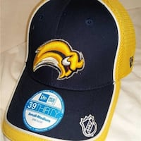 new products df5d0 697aa Buffalo Sabres Mens Size S M Era 39Thirty Stretch Fit Cap Hat