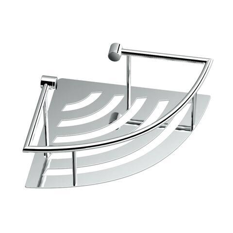 Gatco 1455 Traditional Corner Wall mounted Shower Basket - Chrome