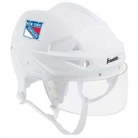 NY New York Rangers - Franklin Sports NHL Mini Player Helmet