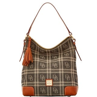 Dooney & Bourke DB Plaid Jacquard Small Sloan (Introduced by Dooney & Bourke at $228 in Jul 2016) - Black
