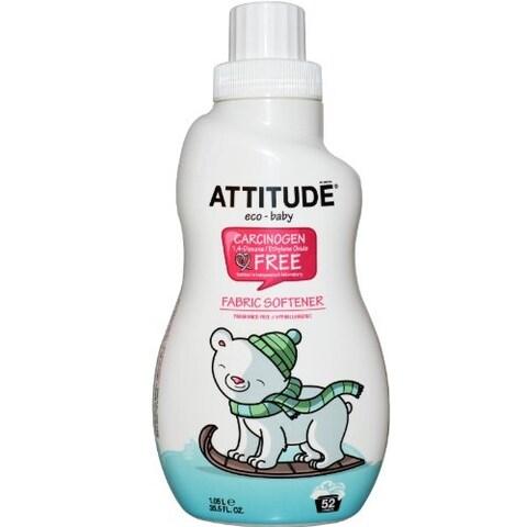 ATTITUDE Eco-Baby Fabric Softener - 40 Loads, 33.8 oz