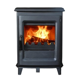 HiFlame Olymberyl HF905UB Small 800 Sq.Feet Wood Burning Stove