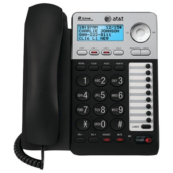 Att Atml17929 2-Line Speakerphone