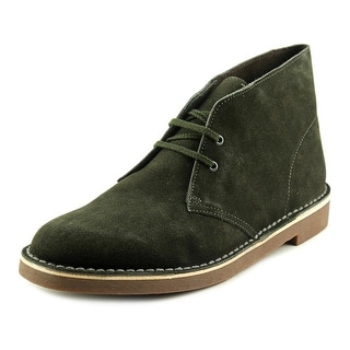 Clarks Bushacre 2 Men Round Toe Suede Green Chukka Boot