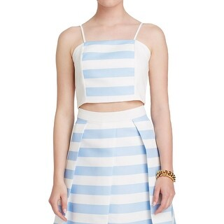 Endless Rose Womens Crop Top Striped Spaghetti Straps (4 options available)