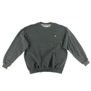 Champion Mens Fleece Long Sleeves Sweatshirt, Crew - XL