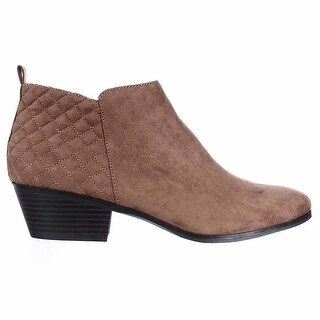 Style & Co Women's Wessley Round Toe Canvas Bootie