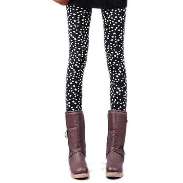Womens Slim Fit Reindeer Leggings Winter Pants ONE SIZE