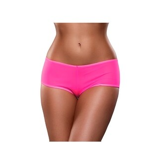 Neon Mesh Boyshort (Option: Orange)