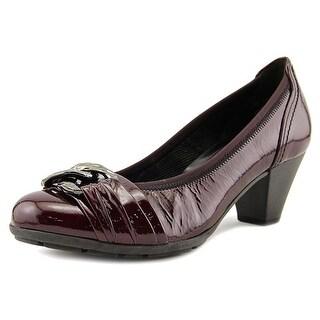 Gabor 75.323   Round Toe Patent Leather  Heels