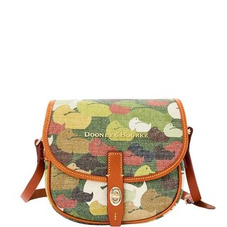 Dooney & Bourke Camouflage Duck Field Bag (Introduced by Dooney & Bourke at $218 in Dec 2014) - Green