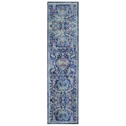 Mohawk Home Elizabeth Medium Blue Area Rug