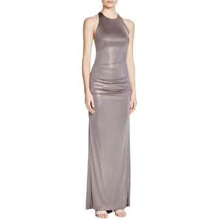 Nicole Miller Womens Evening Dress Metallic Ruched|https://ak1.ostkcdn.com/images/products/is/images/direct/7979688137739ae73871c40aaf0eaaf717b6a39b/Nicole-Miller-Womens-Evening-Dress-Metallic-Ruched.jpg?impolicy=medium