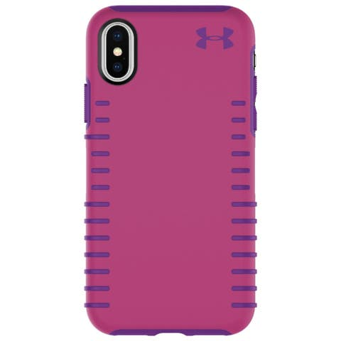 Under Armour Protect Grip Case for iPhone X/XS Tropic Pink/Purple Rave - Pink