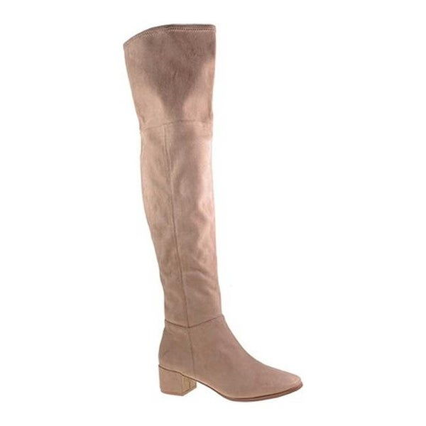 1e014f9b860 Shop Chinese Laundry Women s Felix Over the Knee Boot Mink Suedette ...