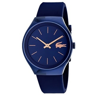 Lacoste Women's Valencia 2000951 Blue Dial watch