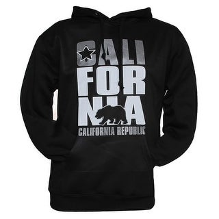 Gravity Trends Mens California Republic Hooded Sweatshirt