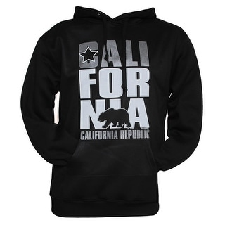 Gravity Trends Mens California Republic Hooded Sweatshirt