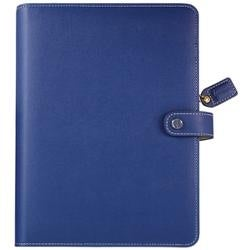 """Navy - Color Crush A5 Faux Leather Planner Kit 7.5""""X10"""""""