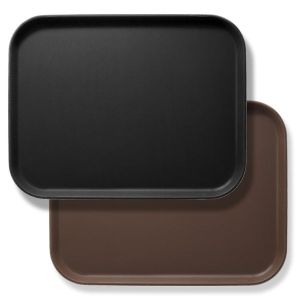 Rectangular Restaurant Serving Trays, NSF Certified (Set of 2) by Jubilee