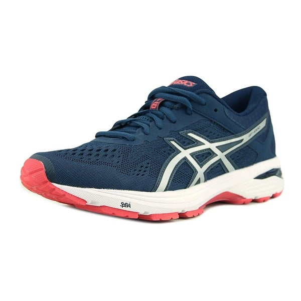new concept 1fdfc a6c41 Asics GT-1000 6 Insignia Blue/Silver/Rouge Red Running Shoes